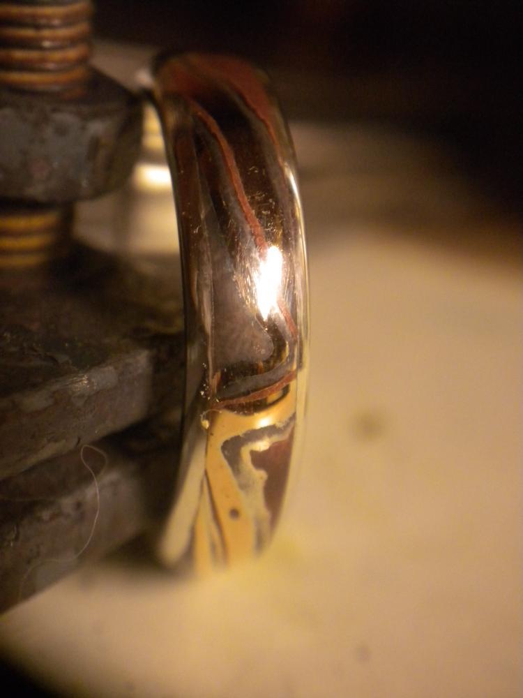 Мокуме гане металл своими руками