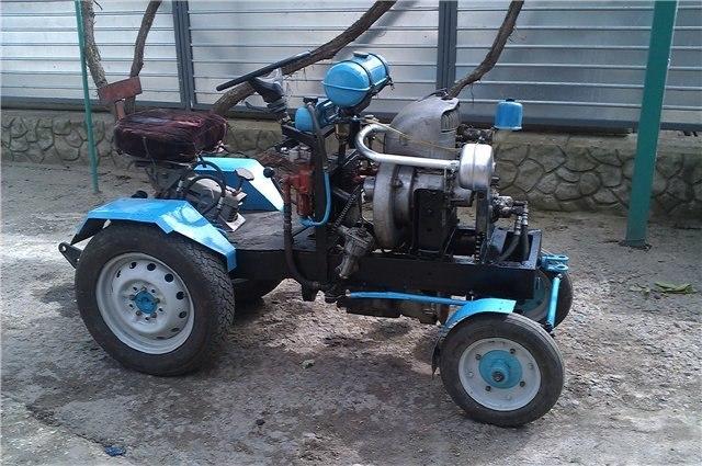 Делать трактор своими руками