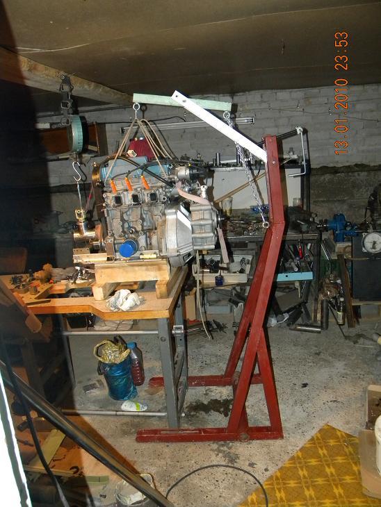 Подъемник для двигателя своими руками фото 51