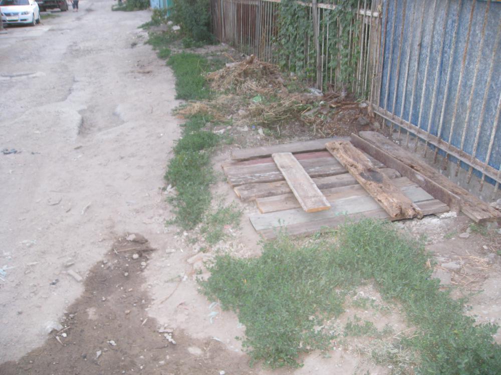 Плита на сливную яму