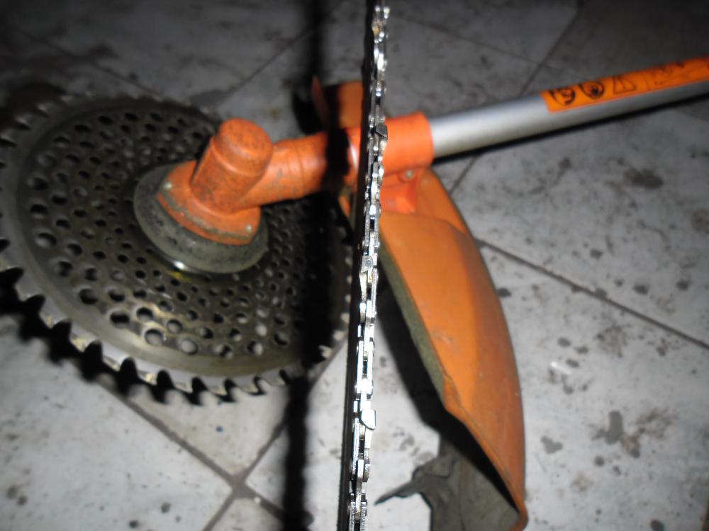 Заточить цепь бензопилы болгаркой