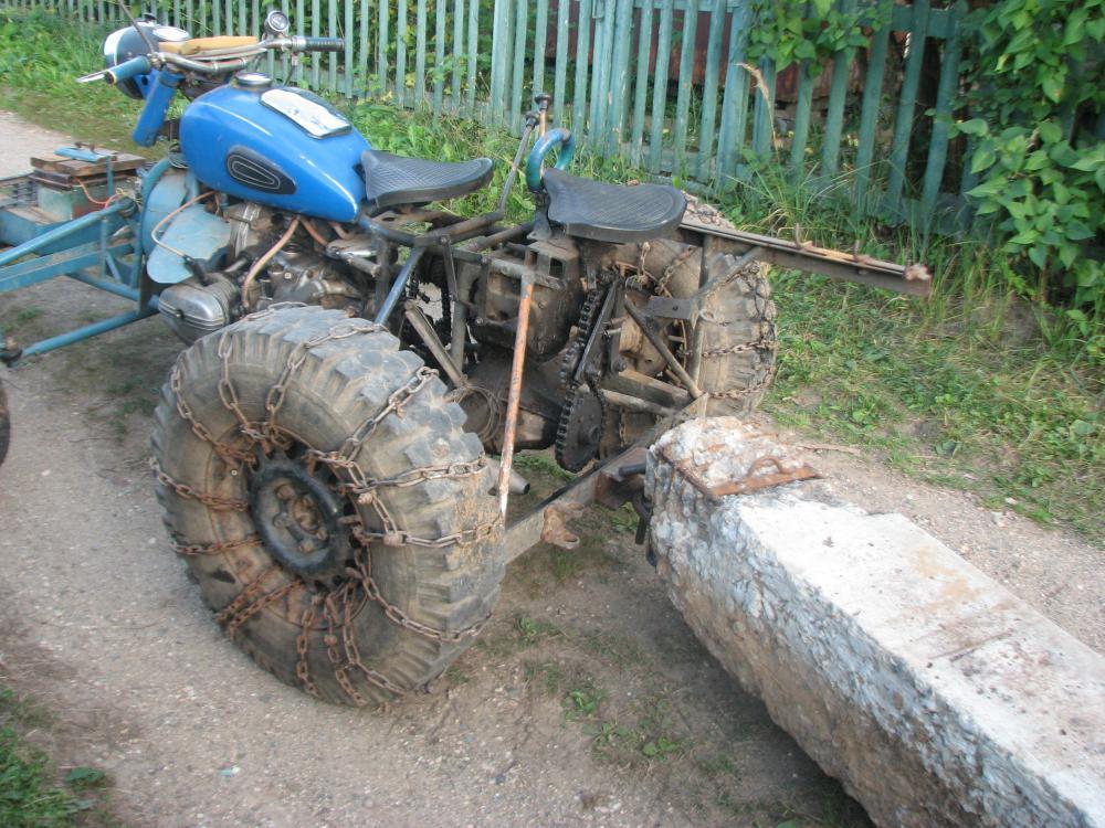 Мотоблок из мотоцикла своими руками 920