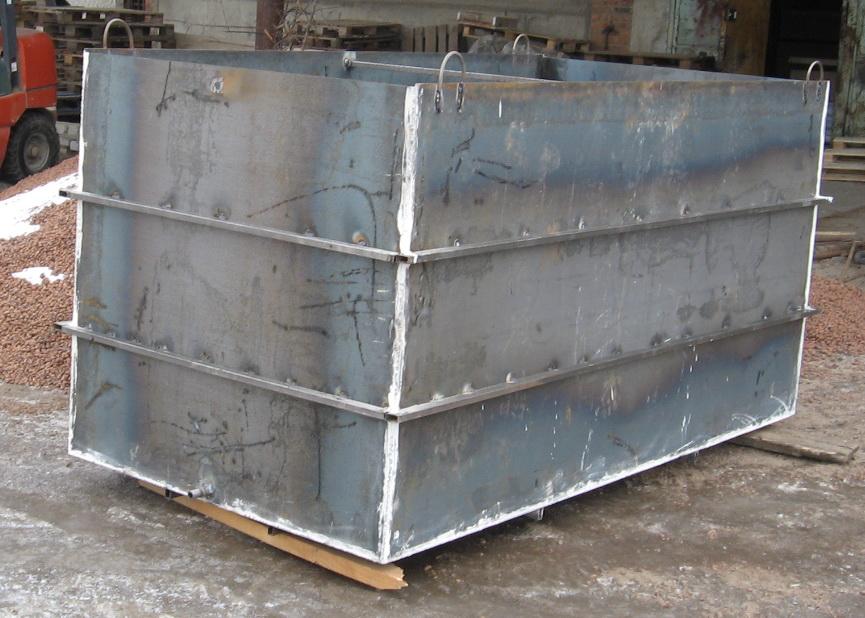 Бассейн из металлического листа своими руками