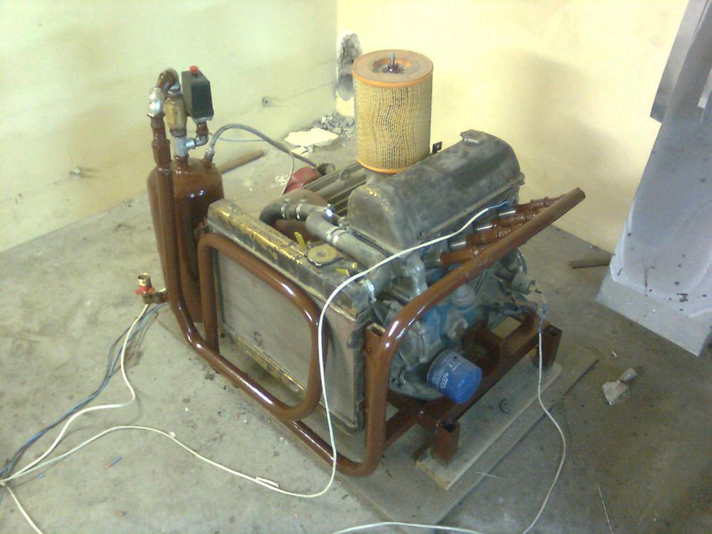 Компрессор из двигателя заз