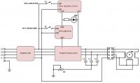 схема автоматика на микроконтроллере