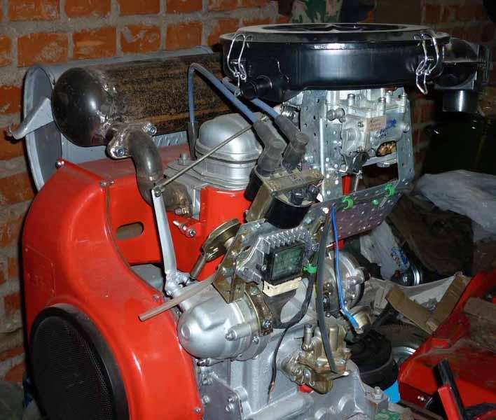 Дизельный двигатель своими руками