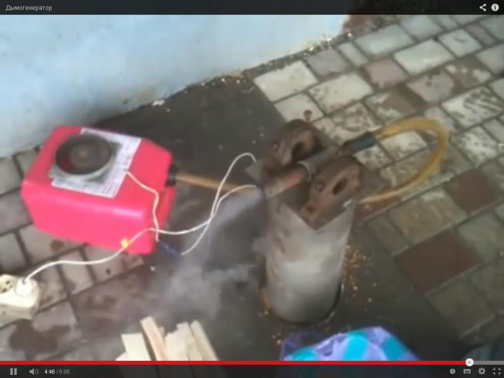 Компрессор для дымогенератора для холодного копчения