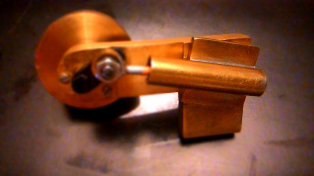 Паровой двигатель с качающимся цилиндром своими руками 38