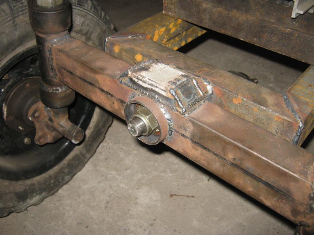 Передние балки для самодельных тракторов