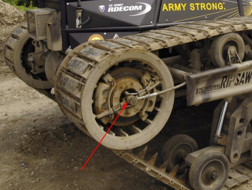 Гусеничные вездеходы поворотный механизм