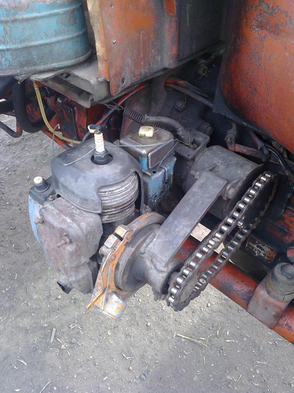 Самодельный стартер для тракторов