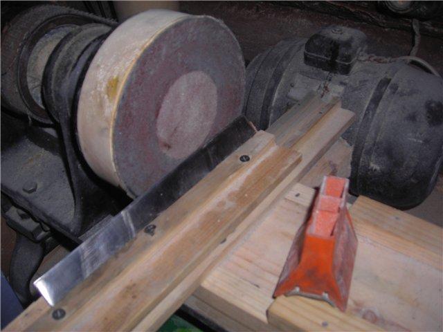 Станки для заточки ножей своими руками строгальных станков