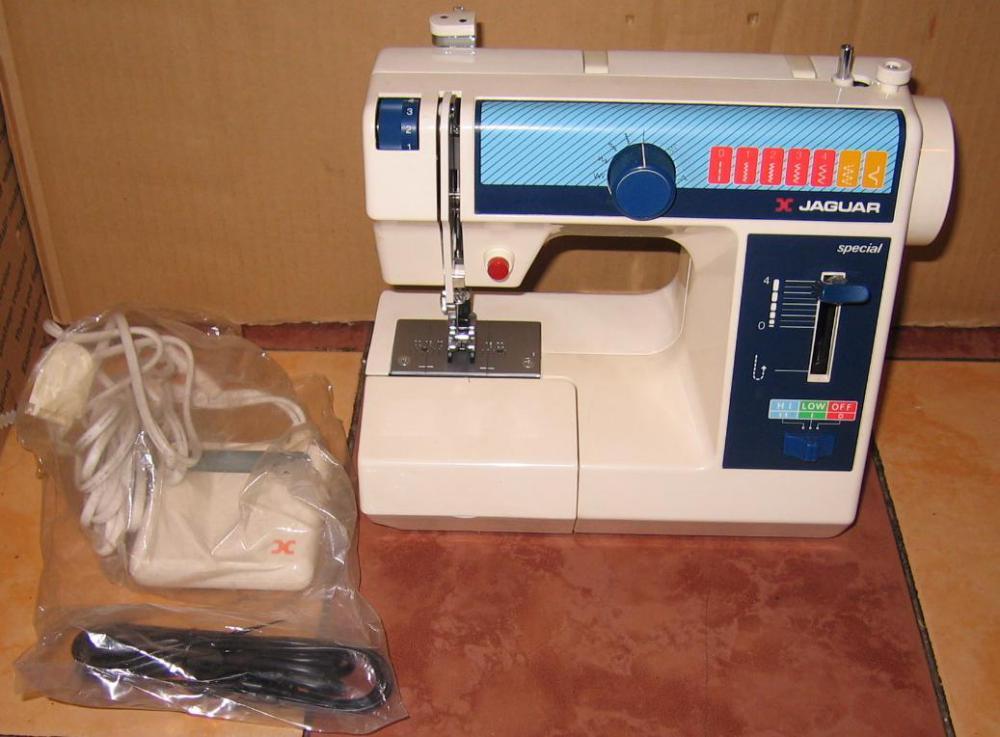Швейные машинки jaguar инструкции
