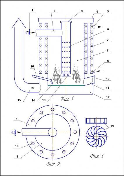 Котел на отработке с водяным контуром своими руками чертежи 87