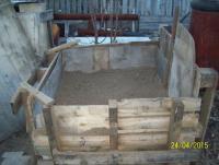 Гараж - мастерская на своём участке.: песок 1.JPG