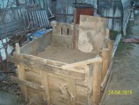 Гараж - мастерская на своём участке.: песок 2.JPG