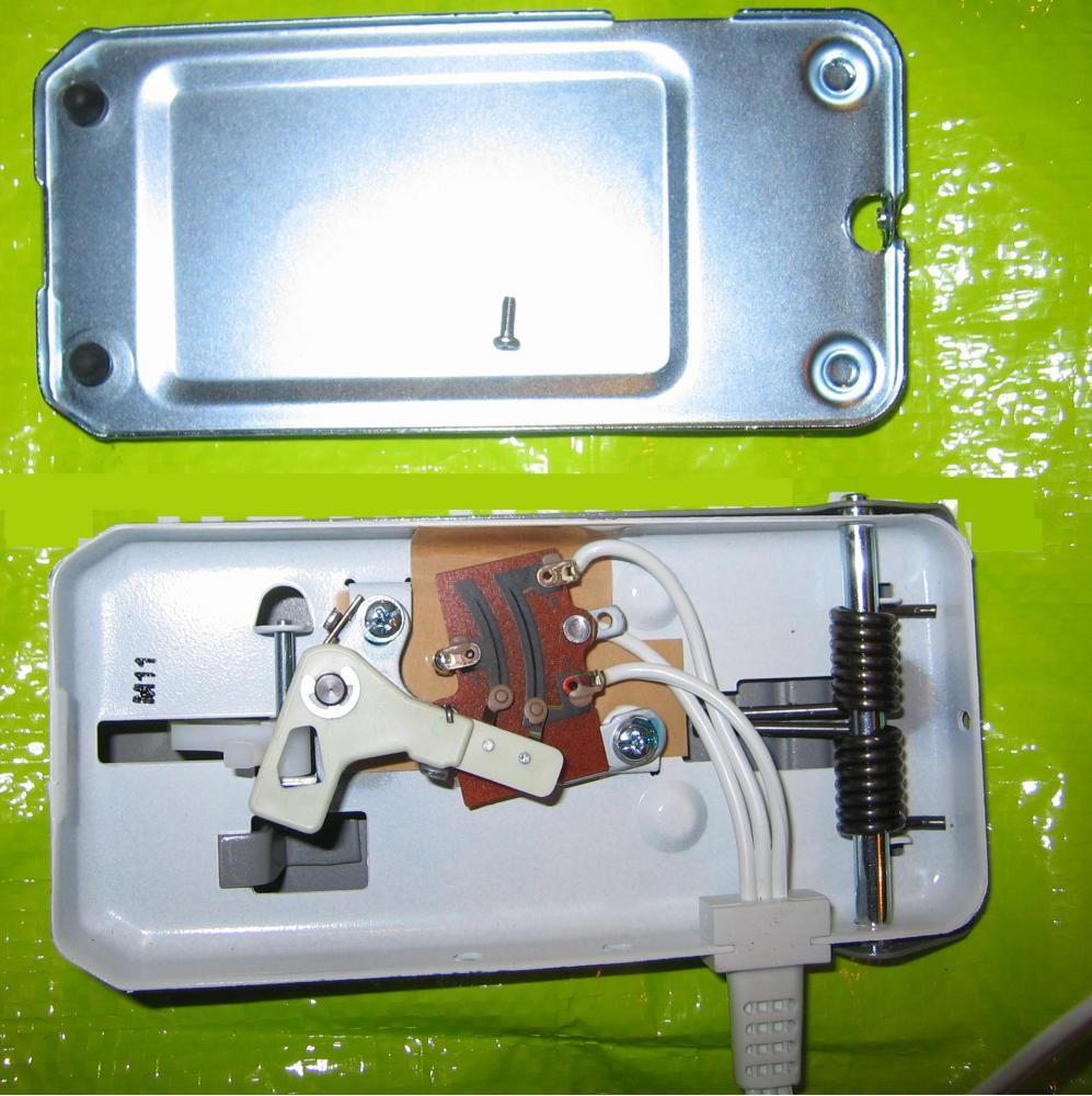 схема устройства бытовой швейной машины