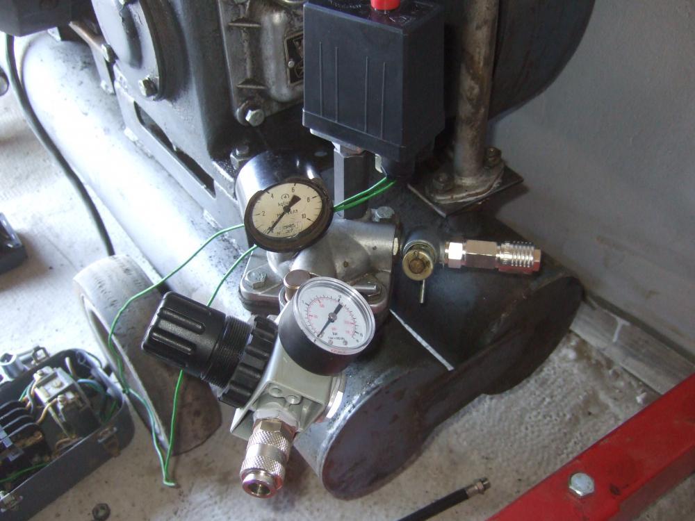 Ремонт компрессора со-7б своими руками