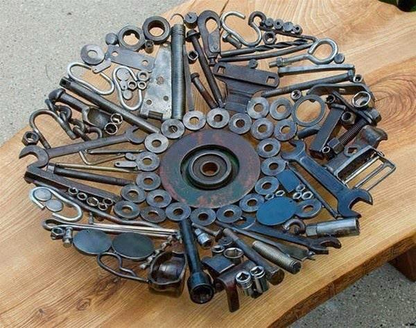 Полезные вещи своими руками из металла