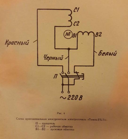 Электроточило томск ухл4 схема