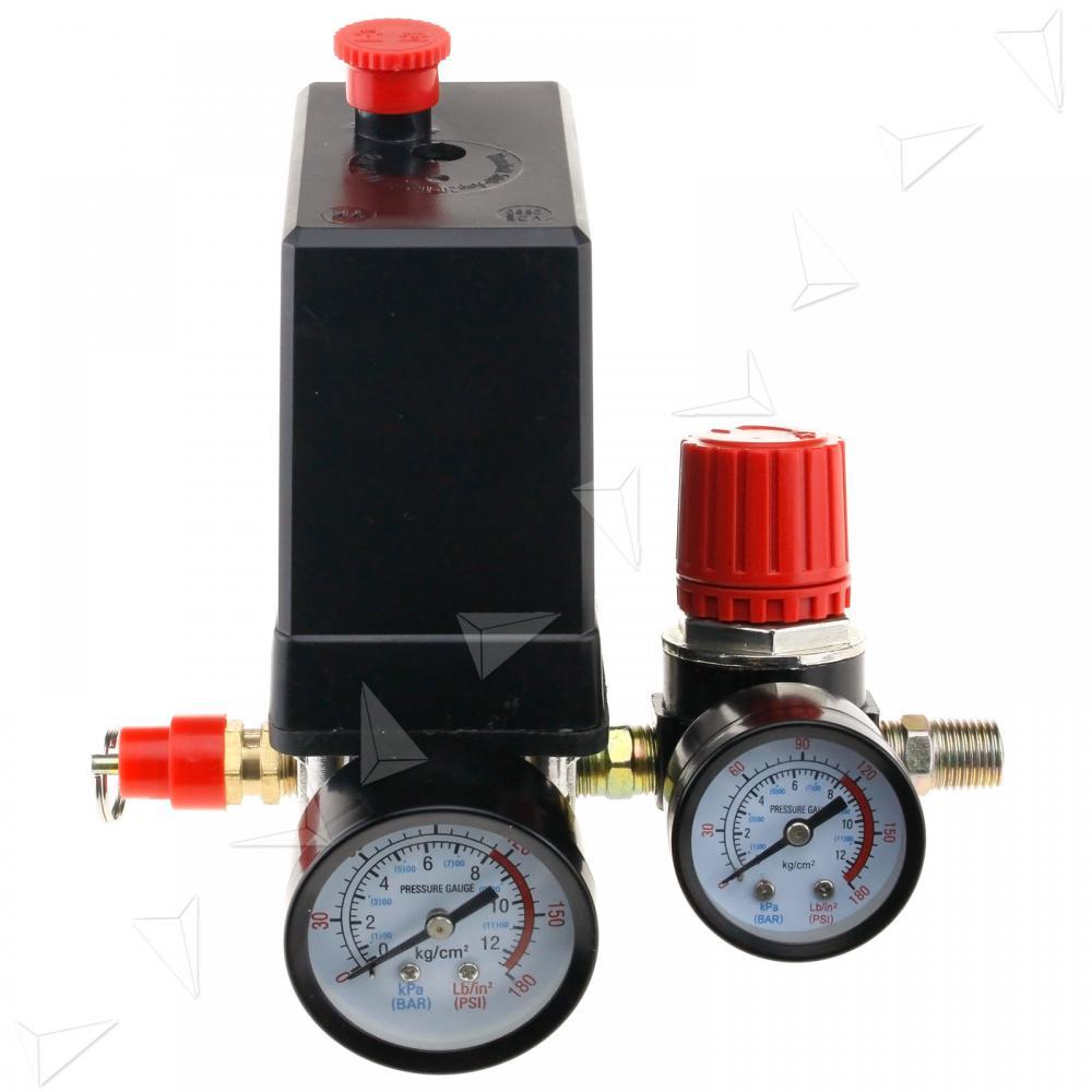 Регулятор давления воздуха для компрессора с манометром своими руками 1