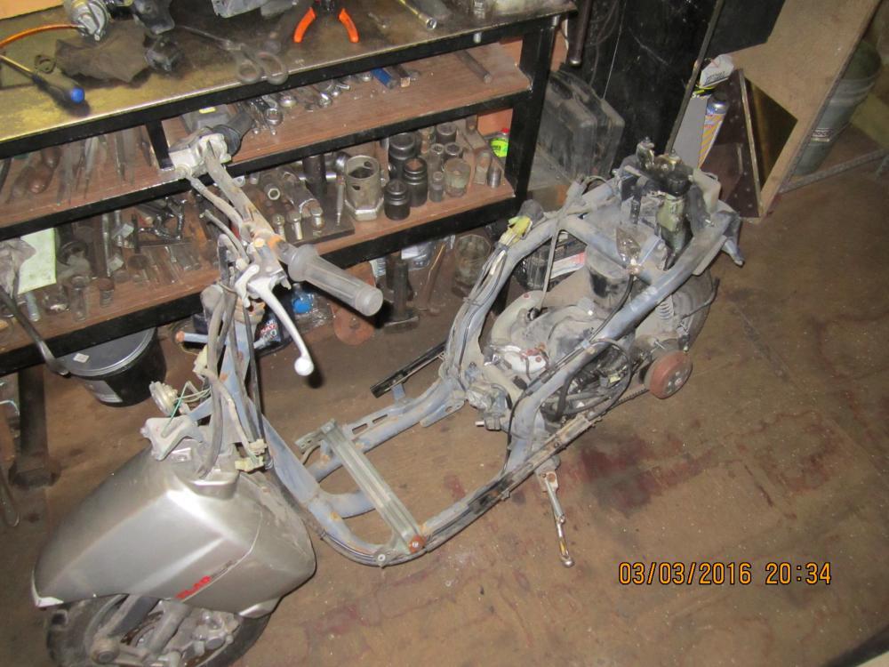 Скутер китайский ремонт своим руками 536