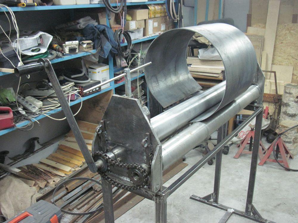 Станок для проката листового металла своими руками 2