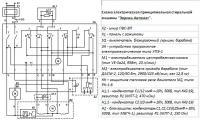 схема подключения двигателя ваз 21011