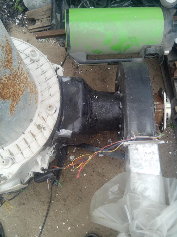 Дробилка из стиральной машины своими руками 265