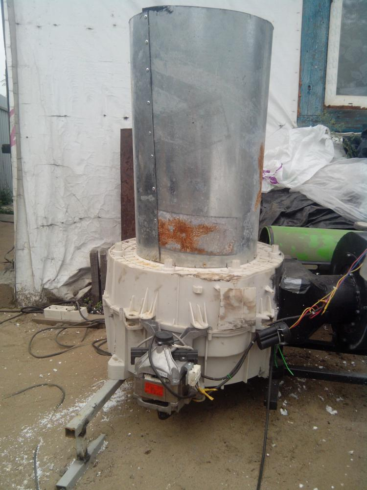 Дробилка из стиральной машины своими руками 41
