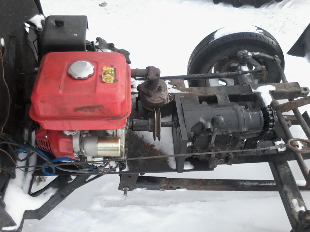 Самодельный минитрактор своими руками с двигателем лифан 78