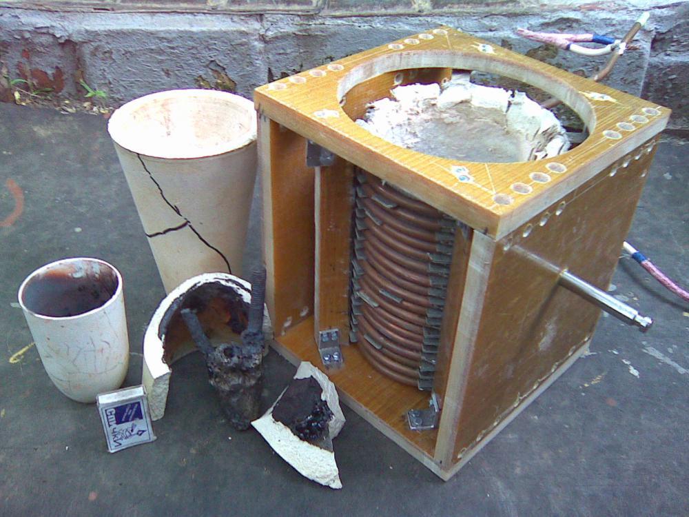 Индукционные печи для плавки металла своими руками